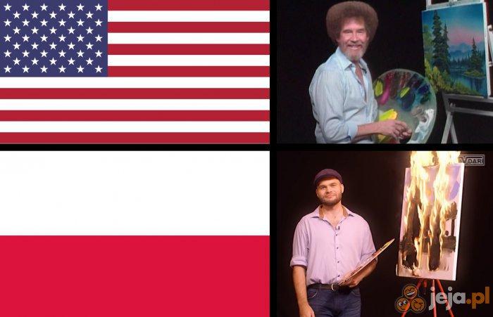 Jaki kraj, taki Bob Ross