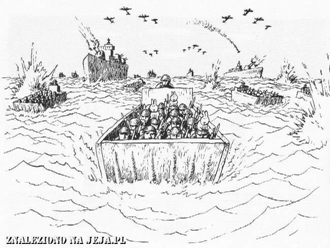 Samobójstwa zajączka: Zajączek w Normandii