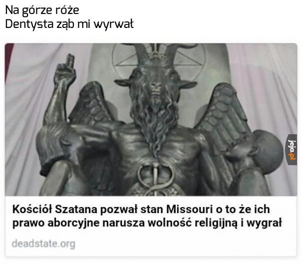 To w końcu też religia, nie?