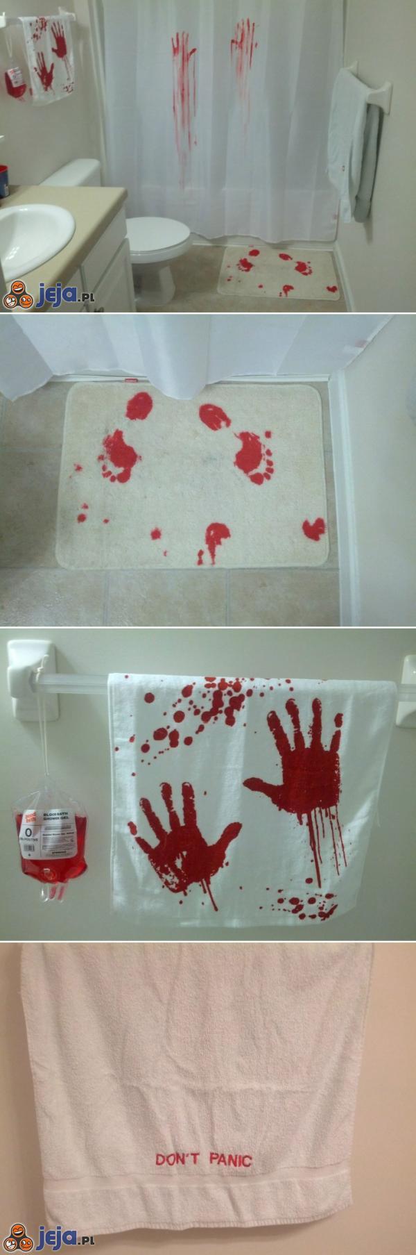 Przerażający wystrój łazienki