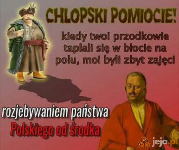 Polski szlachcic to jest gość!