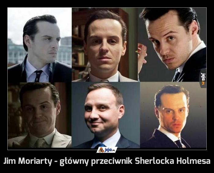 Jim Moriarty - główny przeciwnik Sherlocka Holmesa