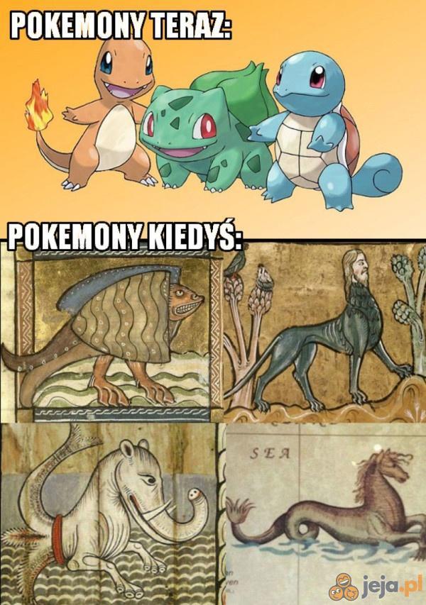 Pokemony kiedyś i dziś