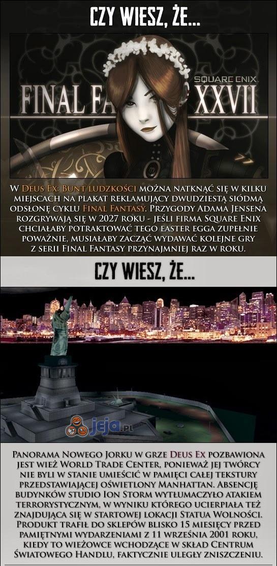 Ciekawostki o Deus Ex