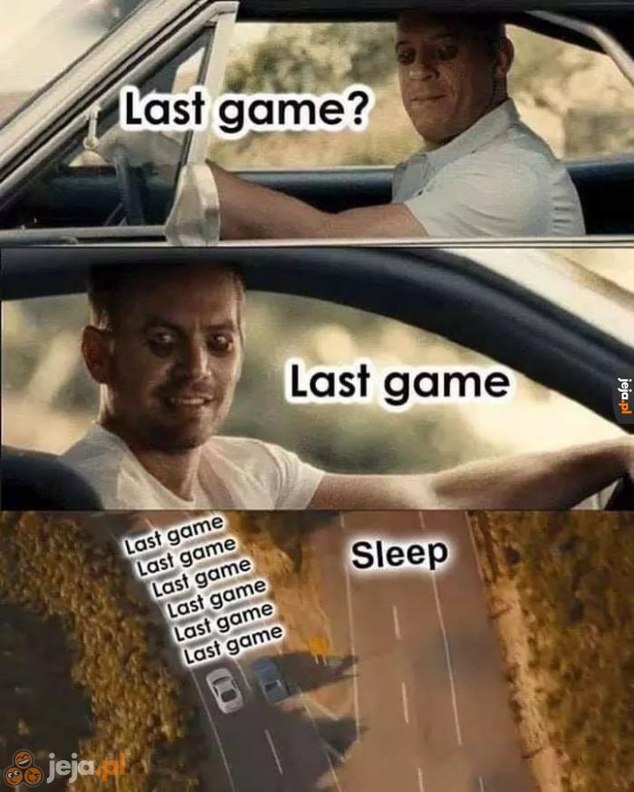 Ostatnia gra?