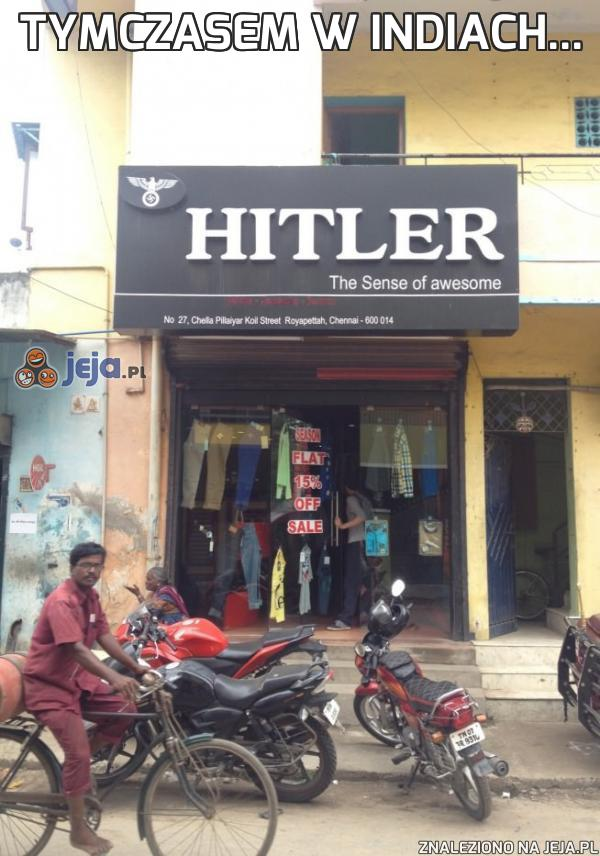 Tymczasem w Indiach...