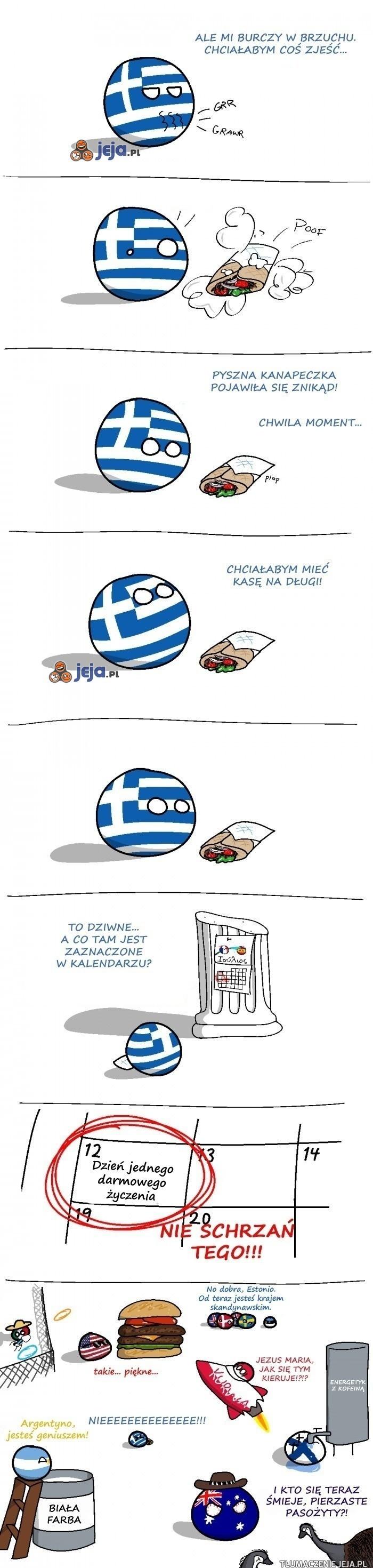 Wielkie greckie życzenie
