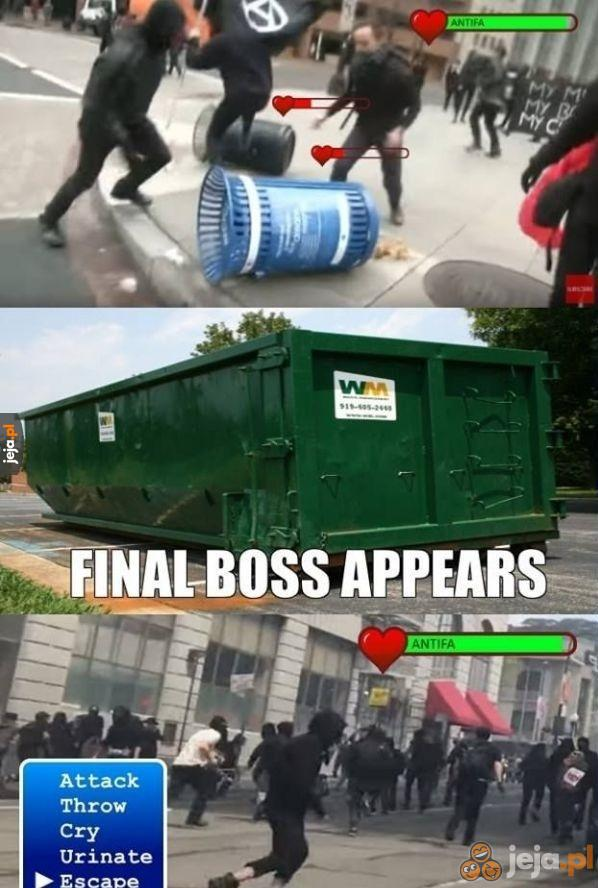 Walka z finałowy bossem