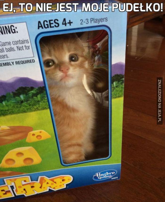 Ej, to nie jest moje pudełko!