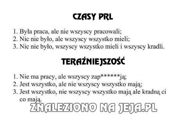 Polska kiedyś i dziś