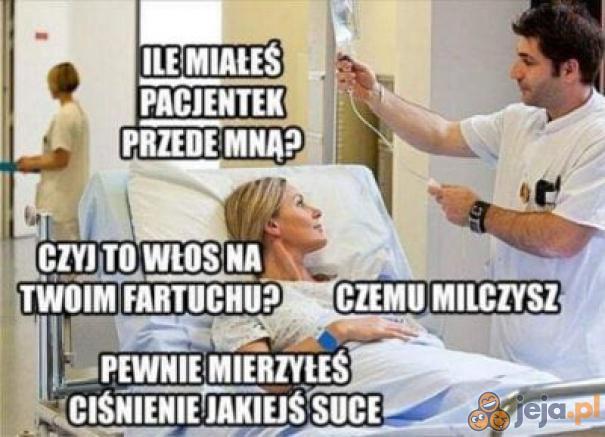 Trudna pacjentka