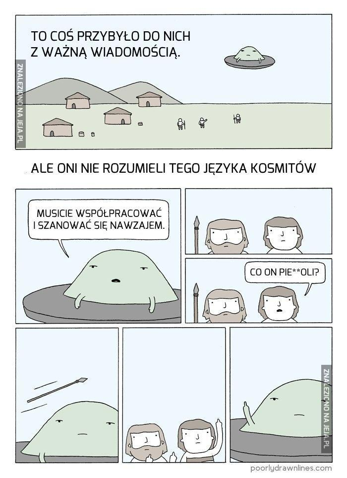 Jo obcym nie UFOm!