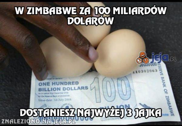 Jajka warte grube miliardy