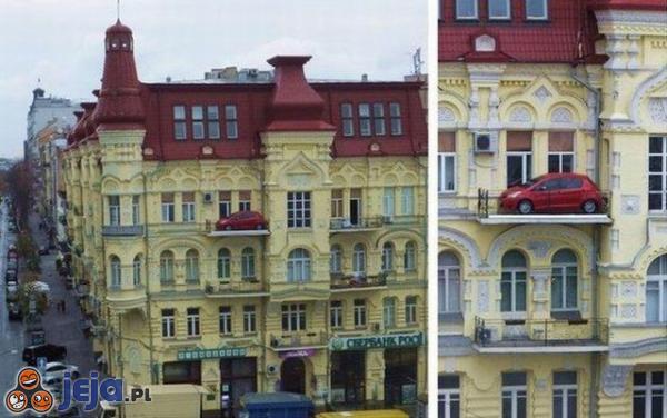 Sprzedam samochód: zadbany, bezwypadkowy, trzymany na balkonie