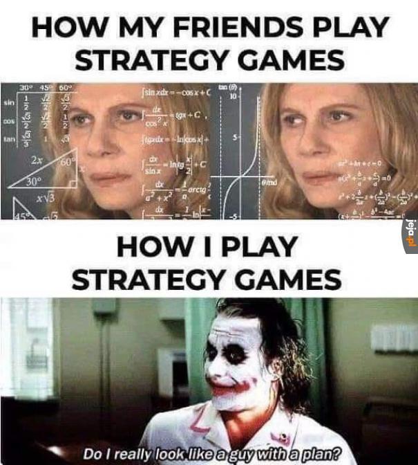 A Ty jak grasz w gry strategiczne?