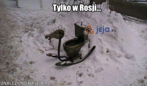Tylko w Rosji...
