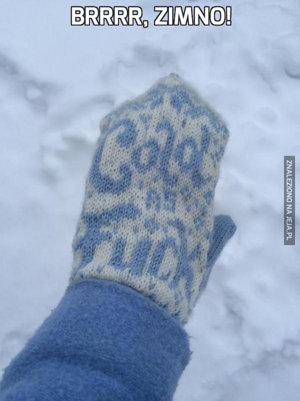 Brrrr, zimno!