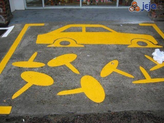 Najskuteczniejszy zakaz parkowania