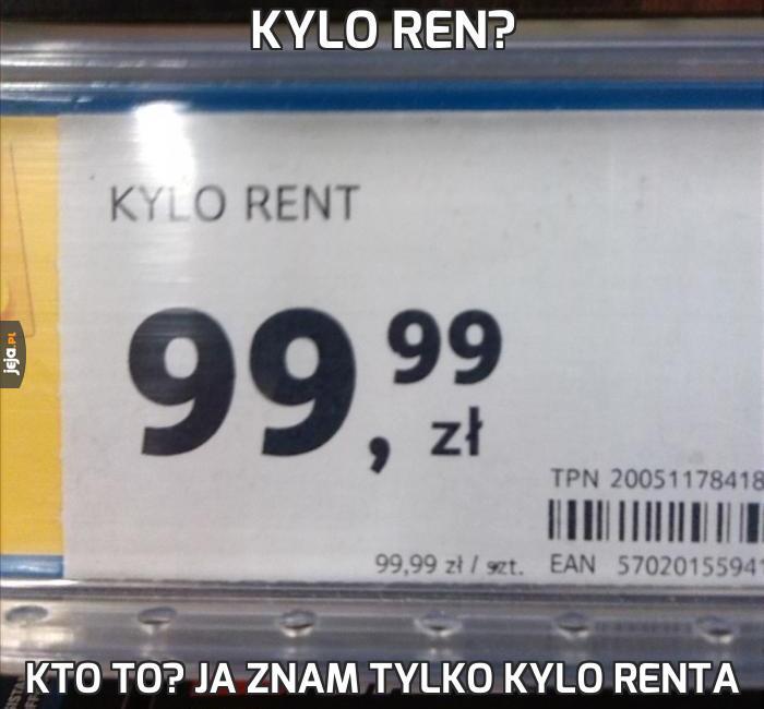 Kylo Ren?