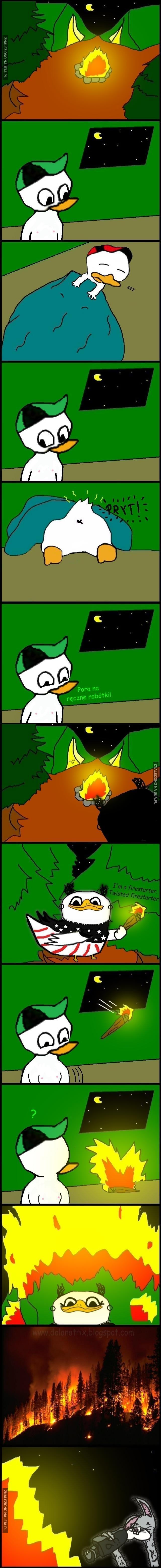 I'm a firestarter