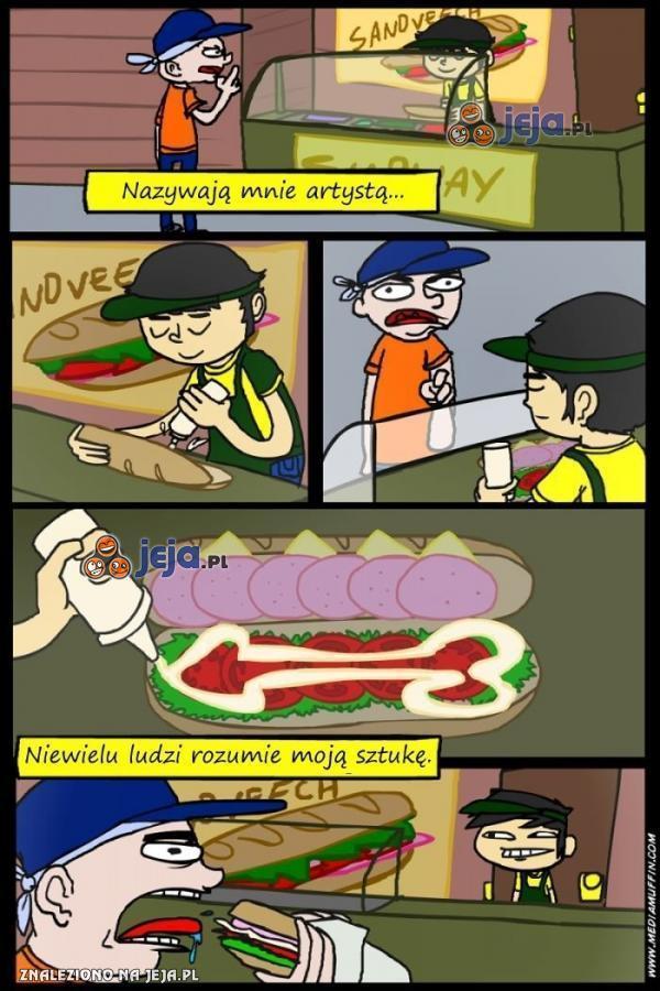 Artystyczne kanapki