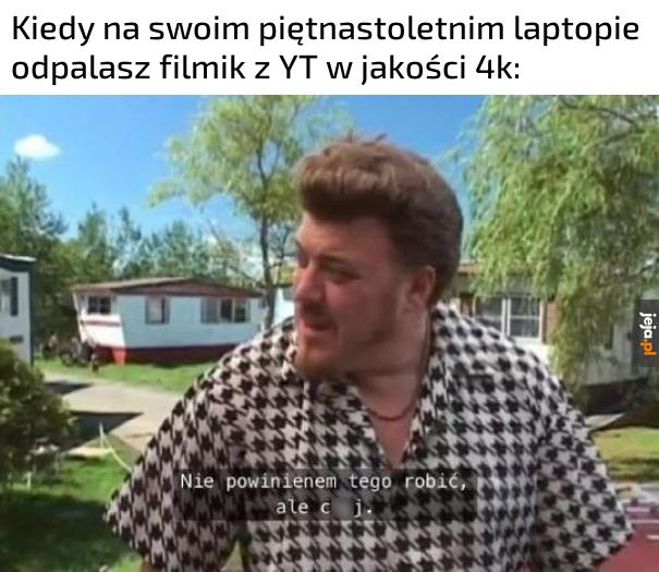 Laptop robi BUM BUM!