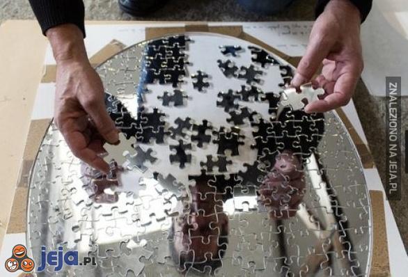 Lustrzane puzzle