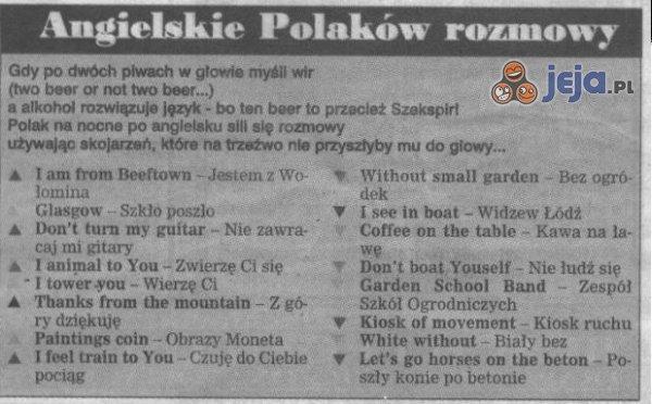 Angielski po Polsku
