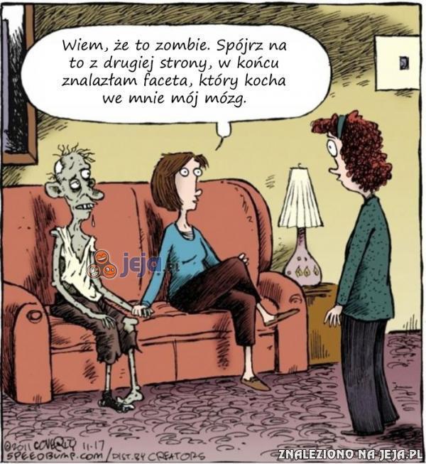 Zombie kocha to co masz w głowie
