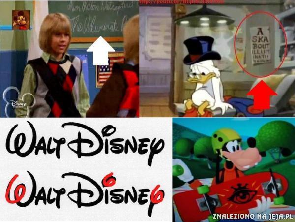 Illuminati w Disneyu