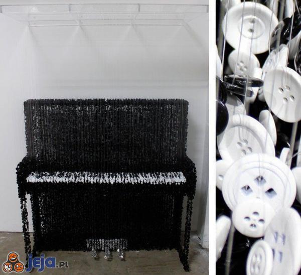 Pianino z guzików