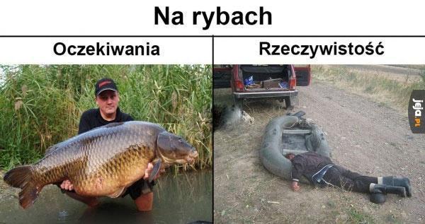 Jak to jest na rybach
