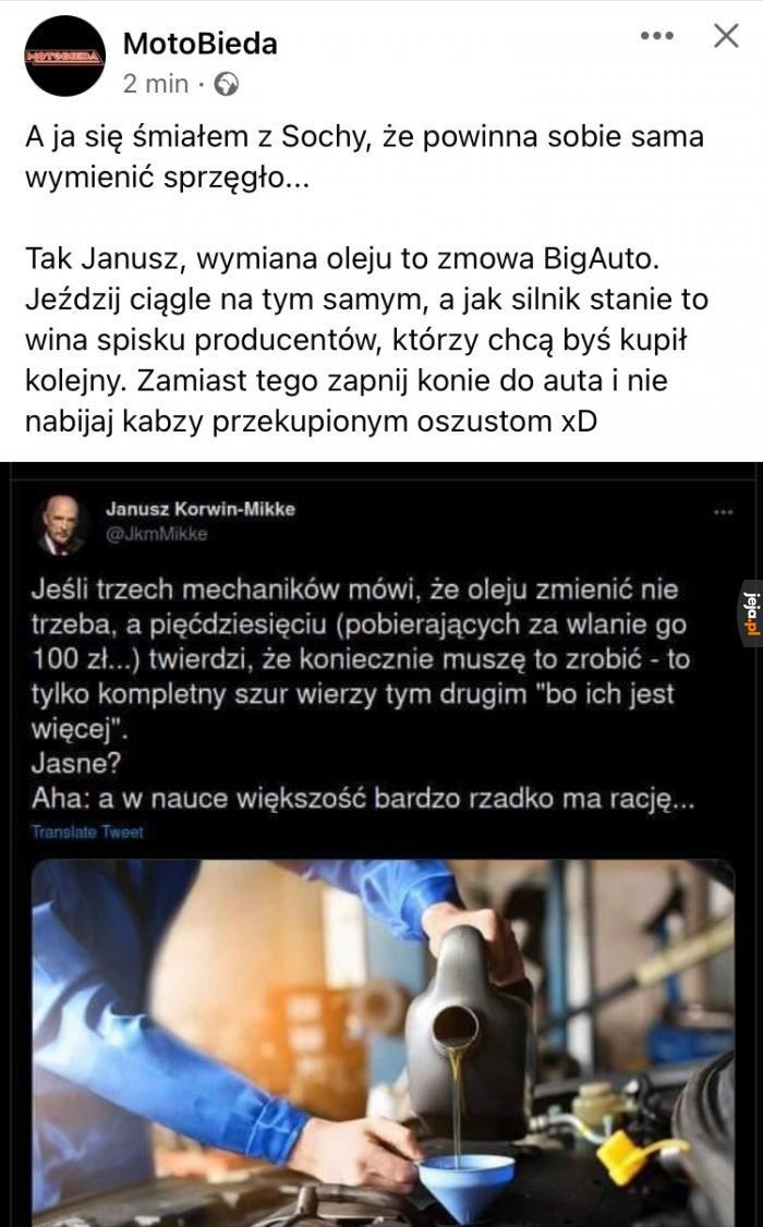 Panie Januszu, nie!