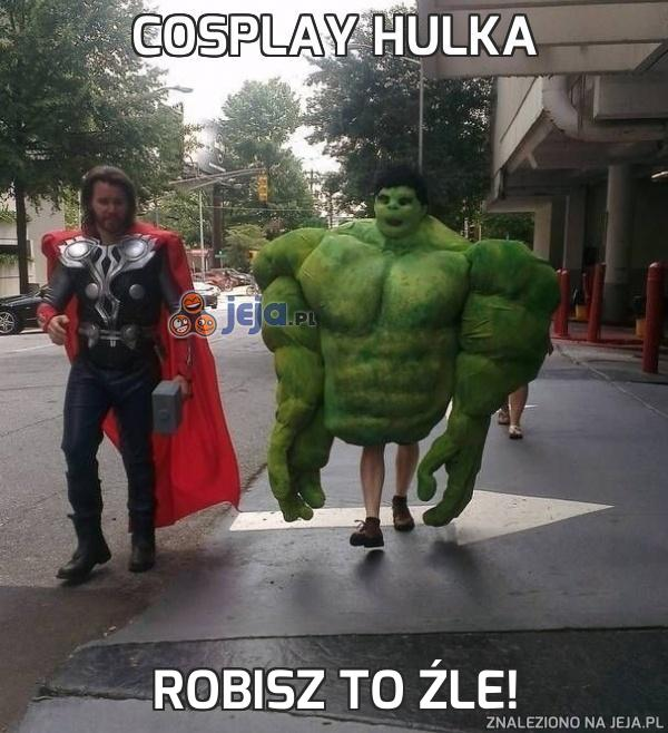 Cosplay Hulka