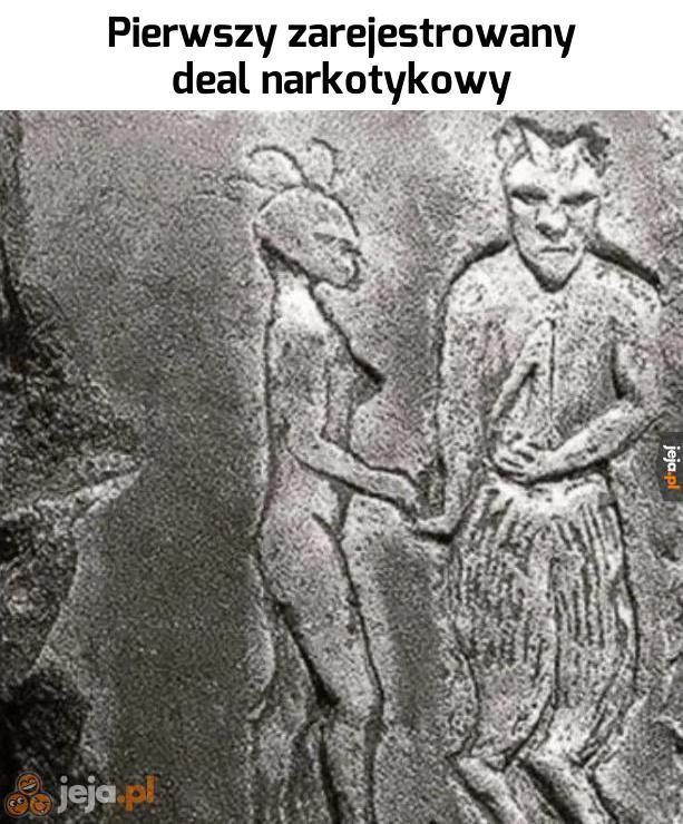Dealowanie to najstarszy zawód świata