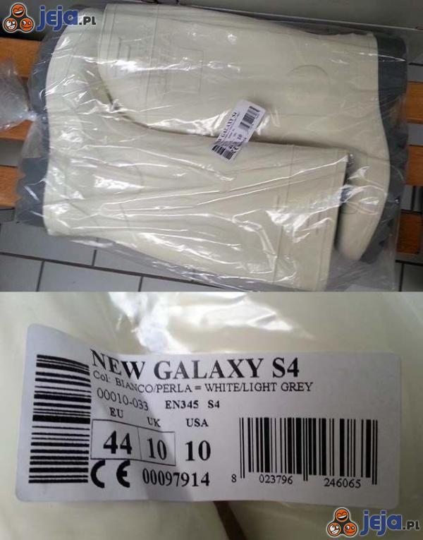 Kupiłem okazyjnie nowego Samsunga Galaxy S4...