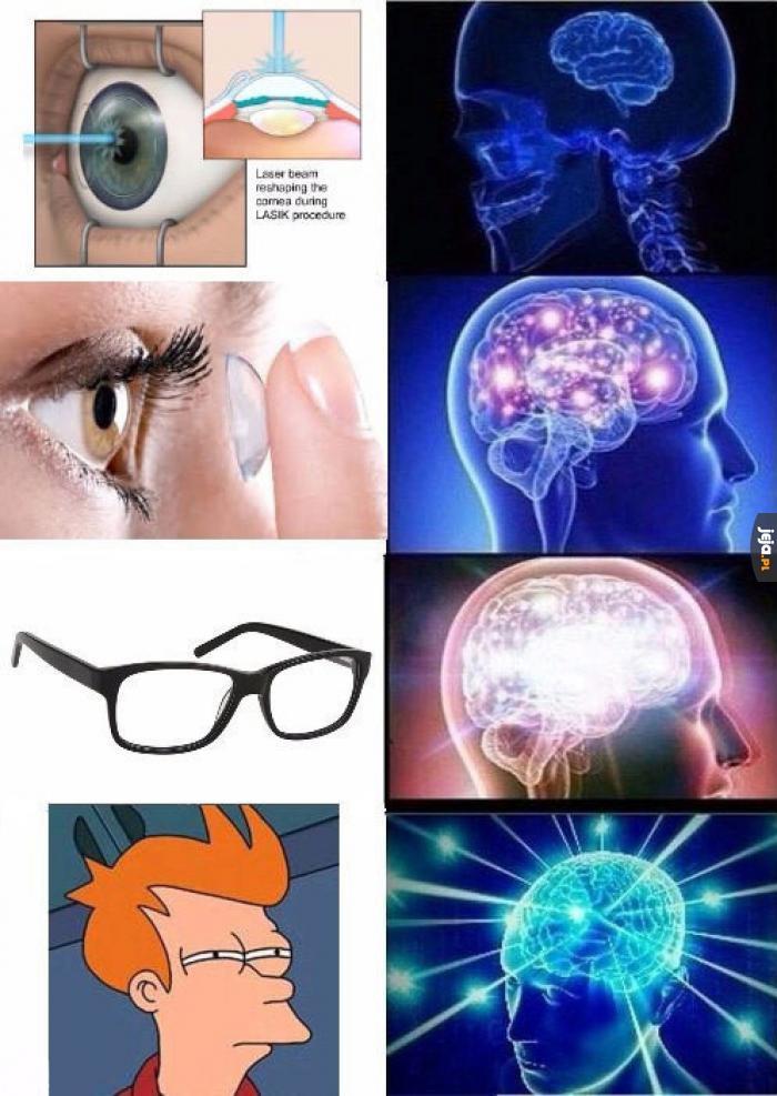 W razie problemów ze wzrokiem