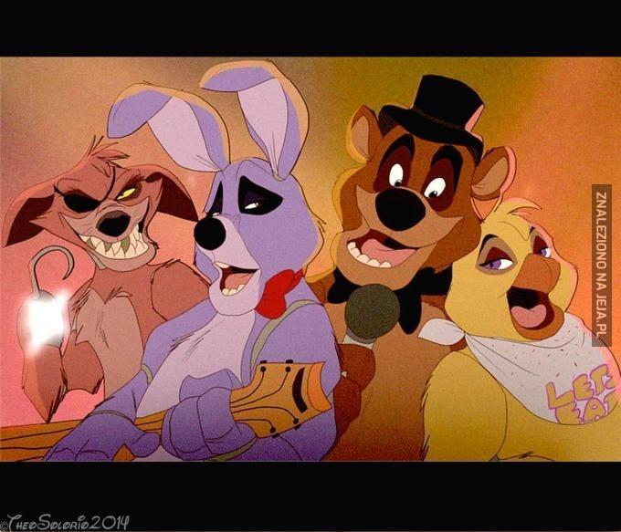 """Gdyby ,,Five Nights at Freddy's"""" było zrobione przez Disney'a"""