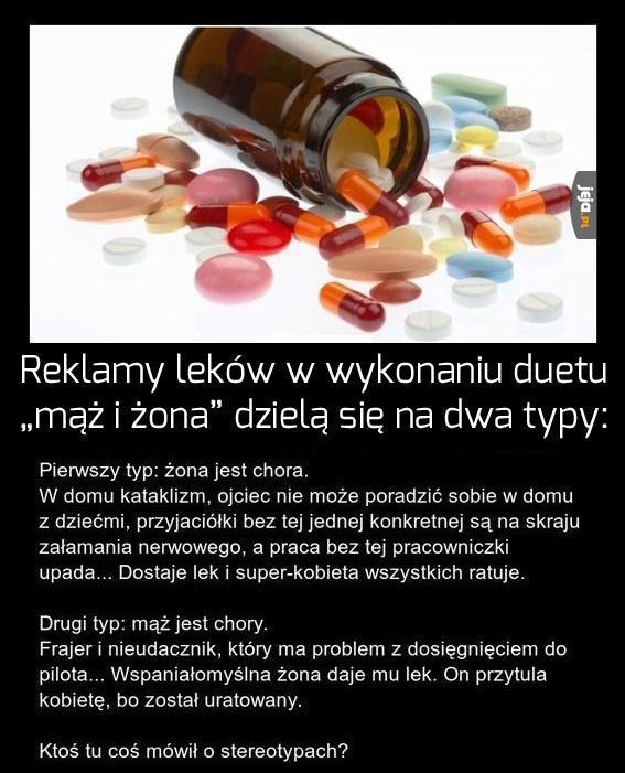 Reklamy leków