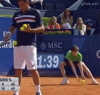 Za dużo tenisa