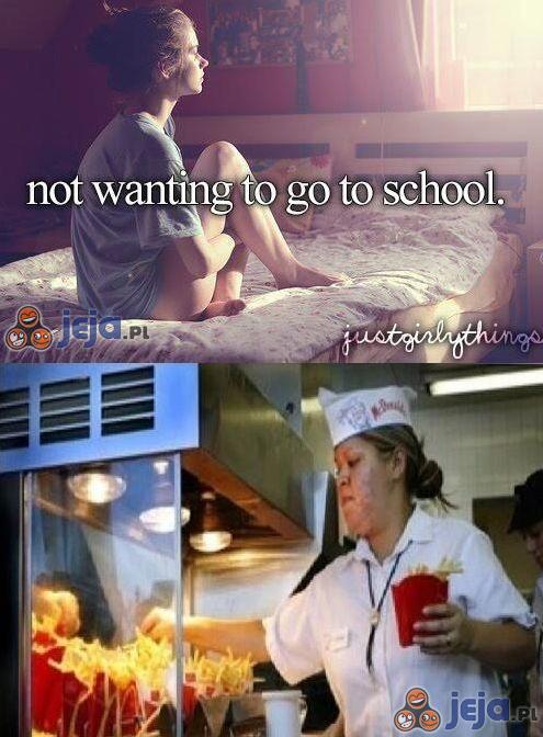 Pewnie, olać szkołę...