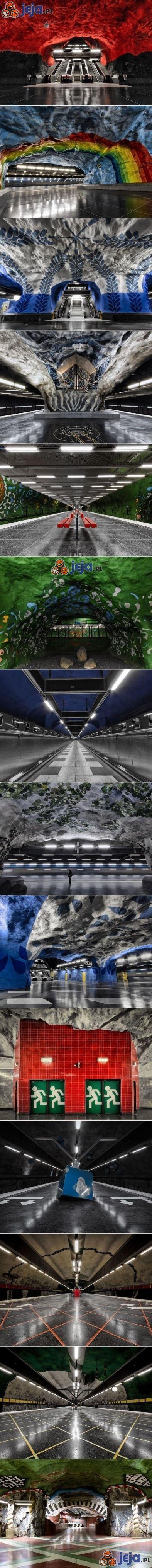 Metro w Sztokholmie