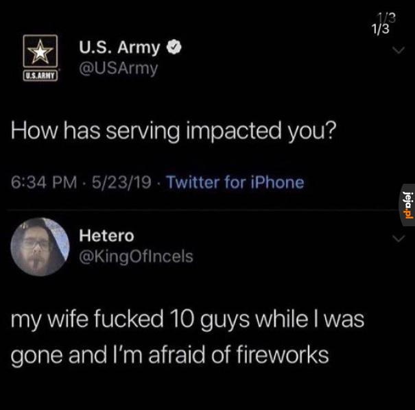 Z życia weterana armii USA
