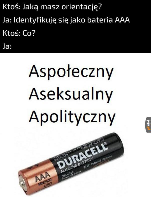 Czy Ty też jesteś baterią?