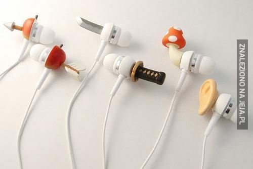 Pomysłowe słuchawki