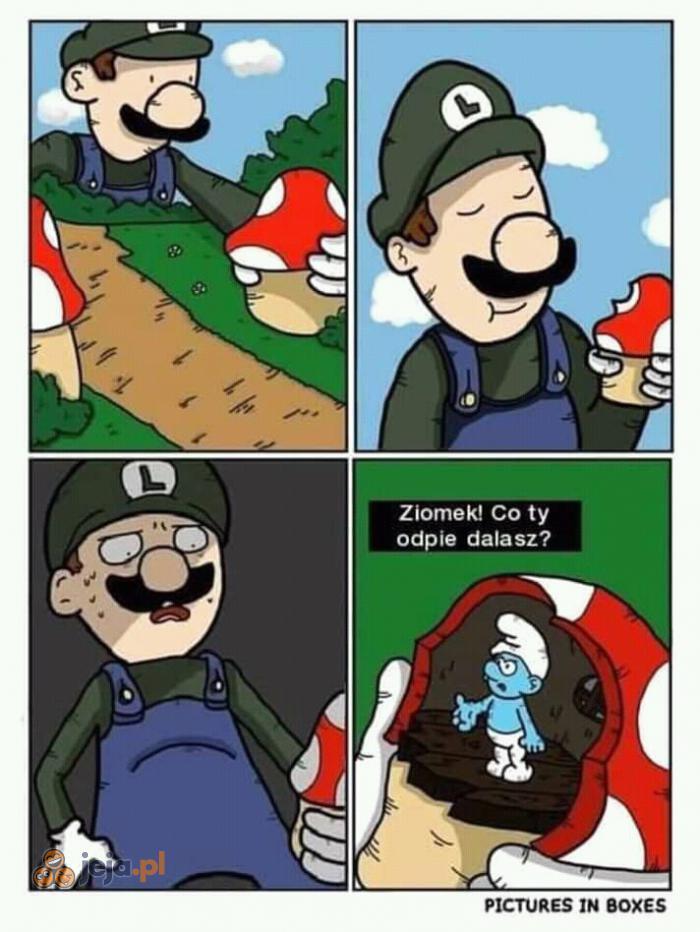 Biedne smerfy
