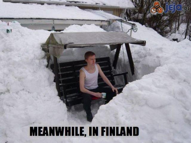Tymczasem w Finlandii