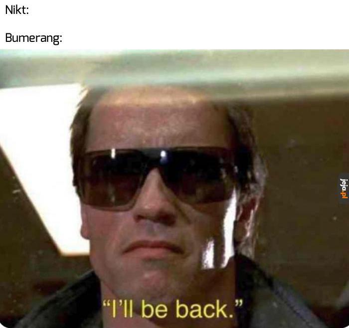 Zaraz wracam