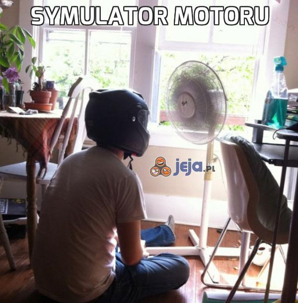 Symulator motoru