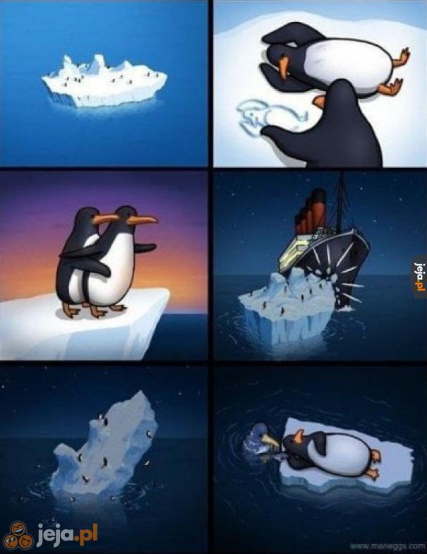 Titanic z perspektywy pingwinów